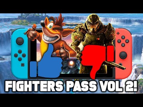 NEW SMASH BROS LEAKS! Fighters Pass 2: Who's In and Who's Out?