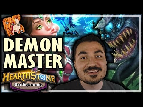 AFK IS THE DEMON MASTER! - Hearthstone Battlegrounds