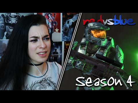 THIS DOESN'T SEEM PHYSICALLY POSSIBLE... | Red vs. Blue Reaction | Season 4 | EP 15-20