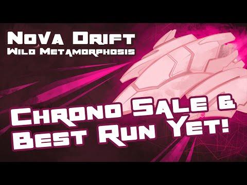 Let's Play Nova Drift: Wild Metamorphosis - PC Gameplay Part 7 - Chrono.gg Sale & Best Run Yet!
