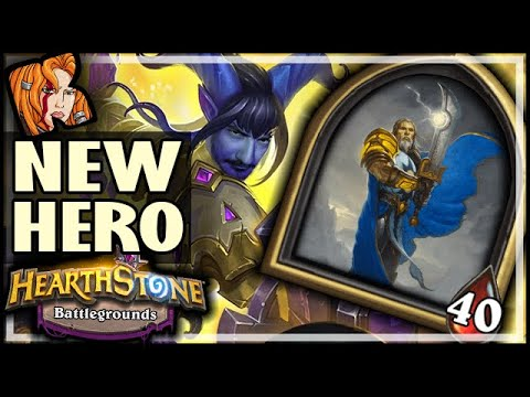 HOW TO PLAY TIRION! - Hearthstone Battlegrounds