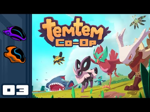 Let's Play Temtem [Co-Op] - PC Gameplay Part 3 - Glorious Cooperation!