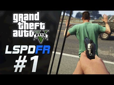 Patrolling the Streets of GTA V | LSPDFR #1 | Our First Day on the Job