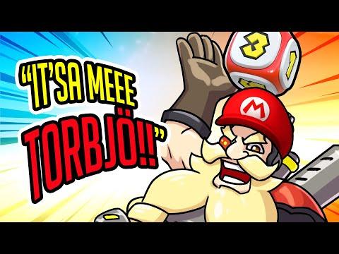 Overwatch Mario Party