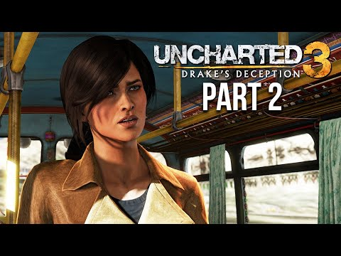 UNCHARTED 3 DRAKE'S DECEPTION Gameplay Walkthrough Part 2 - CHATEAU (PS4)