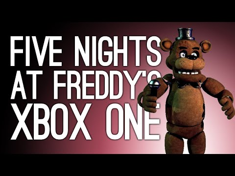 Five Nights at Freddy's Xbox One Gameplay: LET'S PLAY FNAF AT LAST 😱🐻