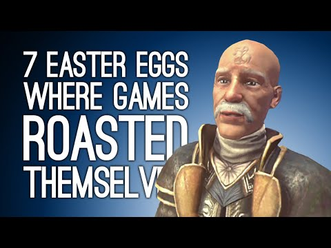 7 Easter Eggs Where Games Roasted Themselves