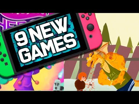 9 NEW Switch Games JUST ANNOUNCED!! January 2020 Nintendo Switch Games