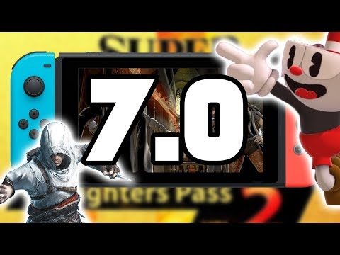 Smash Bros Update 7.0! FULL TOUR + FIGHTER'S PASS 2! (Cuphead, Byleth) Nintendo Switch Update