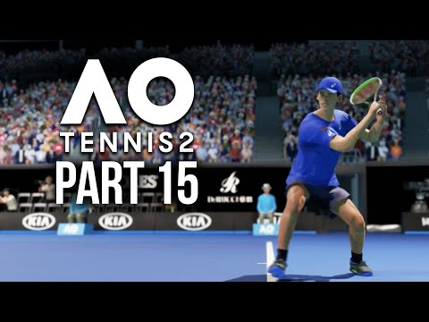AO TENNIS 2 Career Mode Part 15 - TRYING NOT TO RAGE
