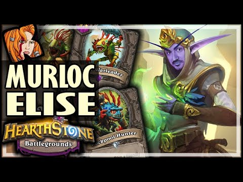 MURLOC ELISE IS SO UNDERRATED! - Hearthstone Battlegrounds