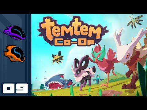 Let's Play Temtem [Co-Op] - PC Gameplay Part 9 - Up And Down And Up And Down And Up And Down..