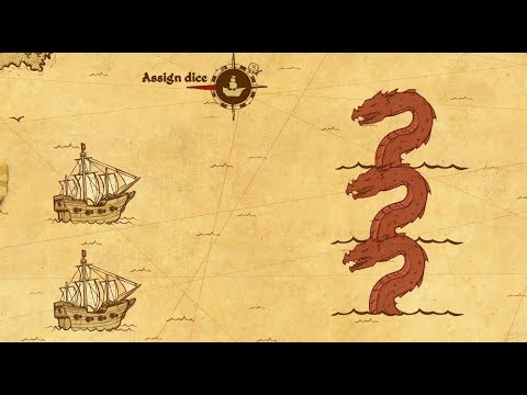 Here Be Dragons REVIEW   Fight the Sea Monsters!