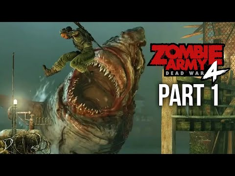 ZOMBIE ARMY 4 DEAD WAR Gameplay Walkthrough Part 1 - MISSION 1 (Full Game)