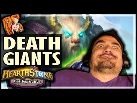 DEATHRATTLE GIANTS?! - Hearthstone Battlegrounds