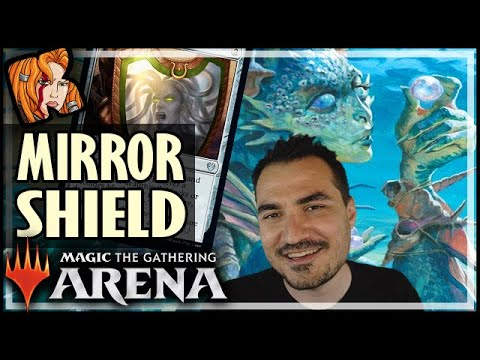 Mirror Shield For The Win! - THEROS MTG Arena