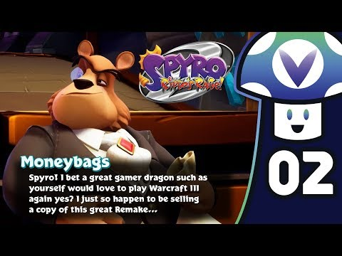 [Vinesauce] Vinny - Spyro 2: Ripto's Rage! (PART 2)