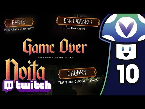 [Vinesauce] Vinny - Noita with Twitch Integration (PART 10)