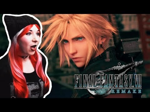 Final Fantasy 7 Remake - Official Trailer Reaction