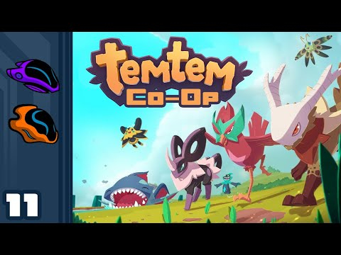 Let's Play Temtem [Co-Op] - PC Gameplay Part 11 - Does This Voice Not Excite?