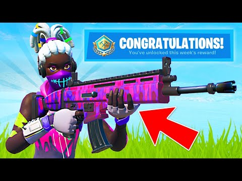 New SECRET Komplex Skin! Summer Smash Cup Tournament Rewards!! (Fortnite Battle Royale)