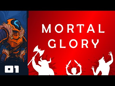 Let's Play Mortal Glory - PC Gameplay Part 1 - Pit Fighting Without A Manual
