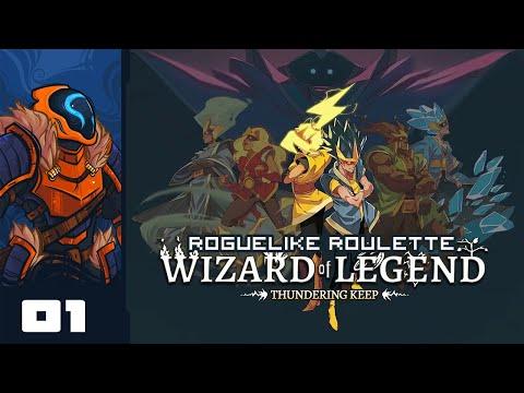 Let's Play Wizard of Legend [Thundering Keep Update] - Part 1 - Peak Wanderbot Theory Returns!