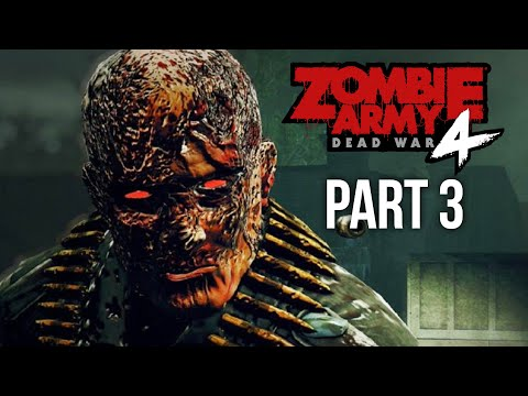 ZOMBIE ARMY 4 DEAD WAR Gameplay Walkthrough Part 3 - GHOSTS AND GONDOLAS (Every Collectible)