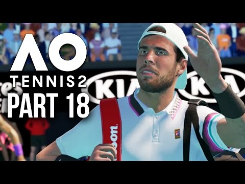 AO TENNIS 2 Career Mode Part 18 - FRENCH OPEN