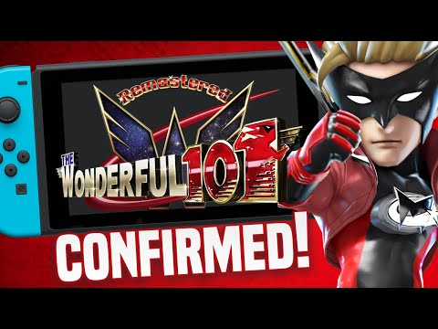 Wonderful 101 Remastered Is Coming to Nintendo Switch!  Platinum Games KICKSTARTER!