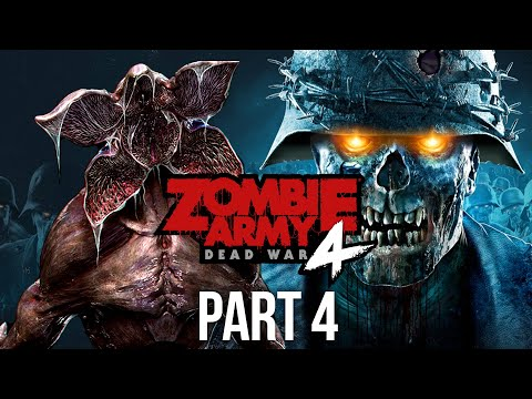 ZOMBIE ARMY 4 DEAD WAR Gameplay Walkthrough Part 4 - STRANGER THINGS EASTER EGG