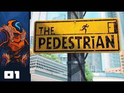 Let's Play The Pedestrian - PC Gameplay Part 1 - Puzzle Overload