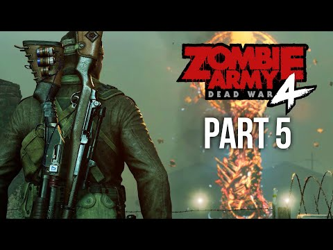 ZOMBIE ARMY 4 DEAD WAR Gameplay Walkthrough Part 5 - GATES OF HELL