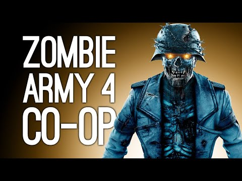 Zombie Army 4 Co-op Gameplay: ZOMBIE ZOO (Let's Play Zombie Army 4 Dead War on Xbox One)