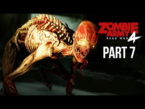 ZOMBIE ARMY 4 DEAD WAR Gameplay Walkthrough Part 7 - INTO THE DARKNESS