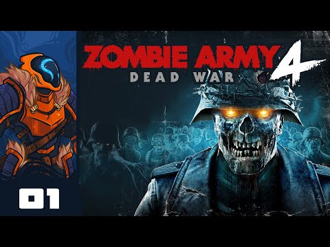 Let's Play Zombie Army 4: Dead War - PC Gameplay Part 1 - Crank Up The Camp And Snipe Some Zed!