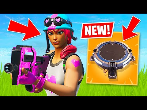 NEW UPDATE!! Launch Pads are BACK!! (Fortnite Battle Royale)