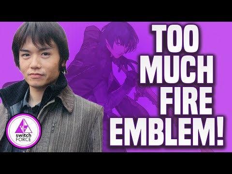 Sakurai Says TOO MANY FIRE EMBLEM Characters In Smash Bros. Ultimate!