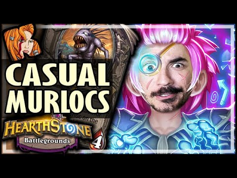 CASUAL MURLOCS? EASY WINS - Hearthstone Battlegrounds