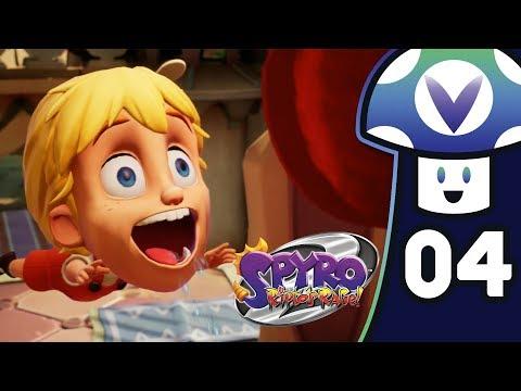 [Vinesauce] Vinny - Spyro 2: Ripto's Rage! (PART 4)
