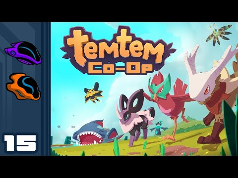 Let's Play Temtem [Co-Op] - PC Gameplay Part 15 - My Kingdom For A Seahorse