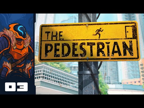 Let's Play The Pedestrian - PC Gameplay Part 3 - Laser Surprise!