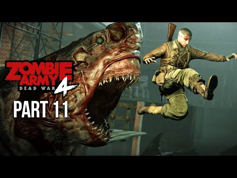 ZOMBIE ARMY 4 DEAD WAR Gameplay Walkthrough Part 11 - ROTTEN COAST (All Collectibles)