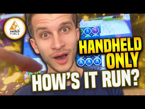 Switch Handheld ONLY... How Does This NEW SWITCH GAME Run Without A TV? Is It Good!?