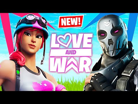 NEW Fortnite LOVE and WAR Update!! (Fortnite Battle Royale)
