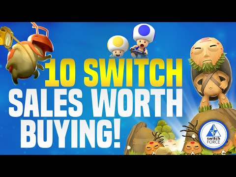 10 GREAT Switch Sales on eShop Games Worth Buying!