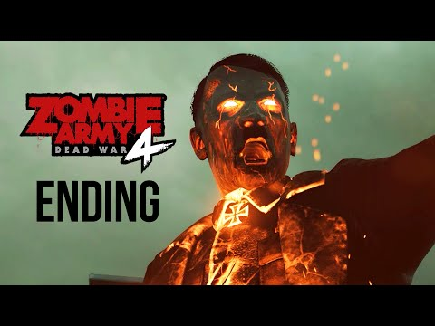 ZOMBIE ARMY 4 DEAD WAR ENDING Gameplay Walkthrough Part 15 - HELL MACHINE (All Collectibles)