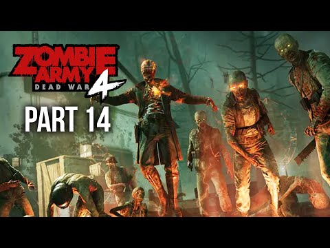 ZOMBIE ARMY 4 DEAD WAR Gameplay Walkthrough Part 14 - HELL BASE (All Collectibles)