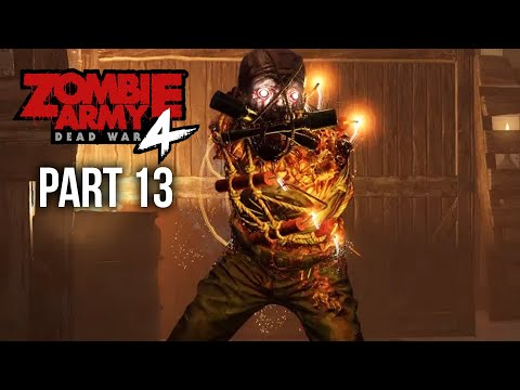 ZOMBIE ARMY 4 DEAD WAR Gameplay Walkthrough Part 13 - ALL ROADS LEAD TO HELL (All Collectibles)