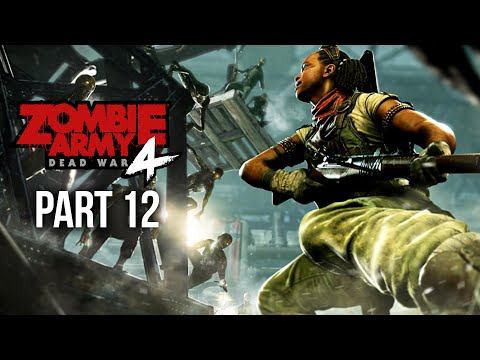 ZOMBIE ARMY 4 DEAD WAR Gameplay Walkthrough Part 12 - MOLTEN NIGHTMARE (All Collectibles)